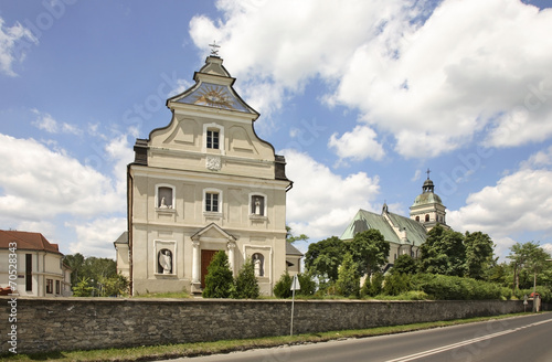 Sanctuary of Mary Magdalene in Bilgoraj. Poland - 70528343