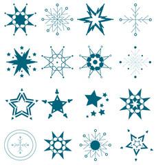 Schneeflocken Set