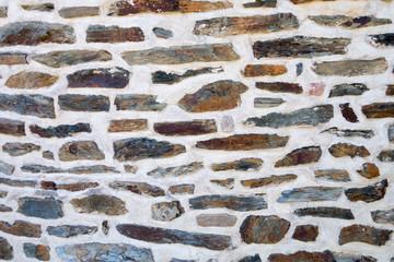 Mur coloré