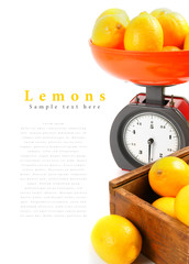 Lemons on scales and in a box