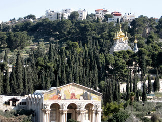 Jerusalem Churches on mount of olives 2008