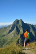 Bergwandern mit Panorama