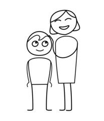 Enfant et maman