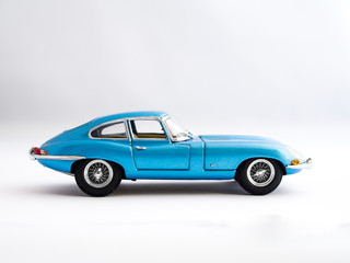 Classic Iconic Blue Coupe