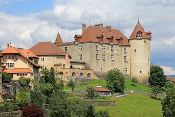 Schloss Greyerz schweiz