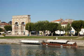 Rive de la Charente à Saintes