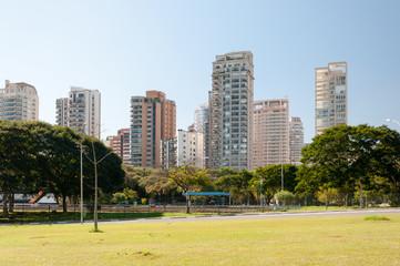 Buildings in Ibirapuera, Sao Paulo city