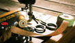 Sewing. Sewing machine and tools. - 70532965
