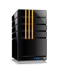 vector website computer server