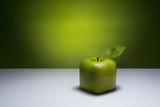 Fototapety Green cube apple