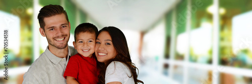 canvas print picture Family