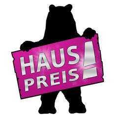 bs52 BearSign - tf14 TradeFair - haus preis - g1775