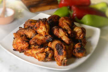 Chicken Wings, Barbeque, Grill (Photography)