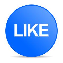 like internet blue icon