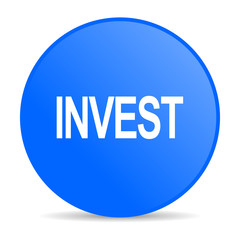 invest internet blue icon