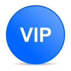 vip internet blue icon