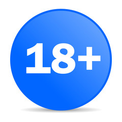 adults internet blue icon
