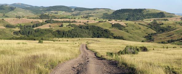 Rural Road, Serbia