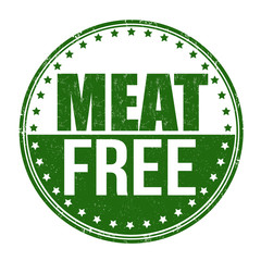 Meat free stamp