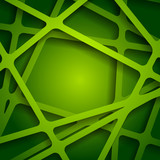 Green web texture