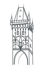 Powder tower Prague