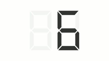 countdown digital 10s