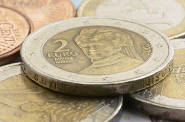 Österreichische Euromünzen Pièces en euro de l'Autriche
