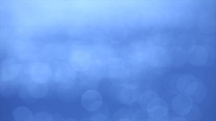 Defocused of blue sea