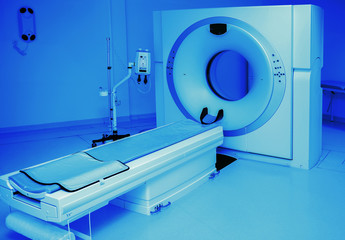 medical tomograph in clinic