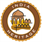 label of India heritage poster