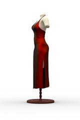 Red Dress / 3D model