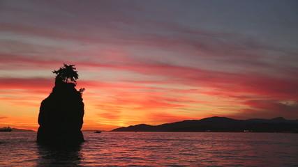 Siwash Rock Twilight, English Bay