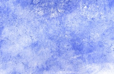 Grunge Blue Painted Background