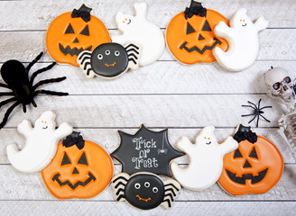 Halloween Cookie Background