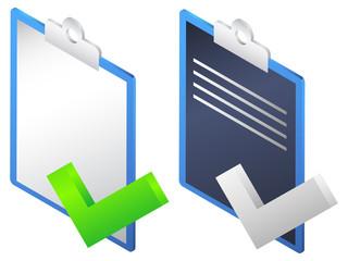 Clip Board Icon - Illustration