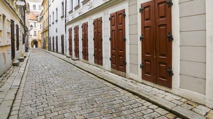 streets of old Bratislava, Slovakia