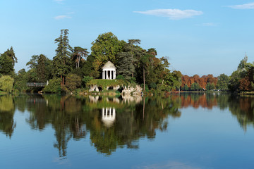 Paris, lac Daumesnil