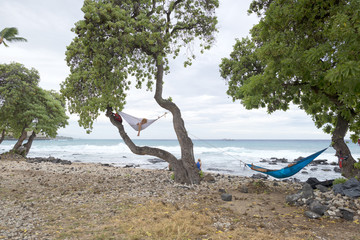 hammock by the sea