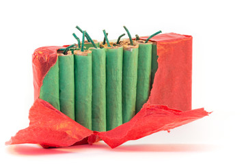 Standing firecrackers in packet