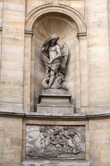 Paris -  Fountain of the four seasons. France