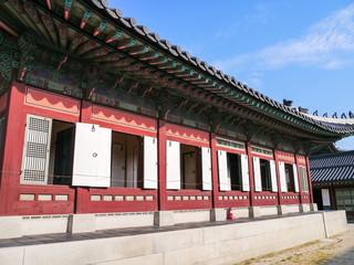 Gyeongbok Palace (景福宮) in Seoul, Korea