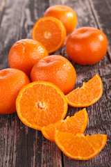 orange, mandarin fruit