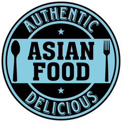 asian food label
