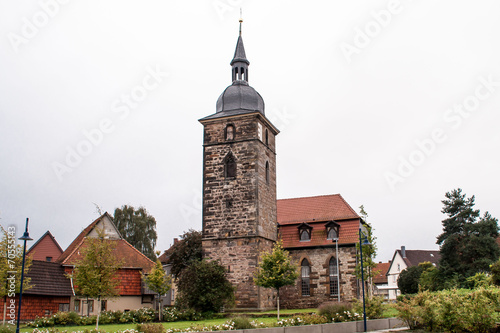 canvas print picture Kirche-St.Gotthard  in Wahlwinkel