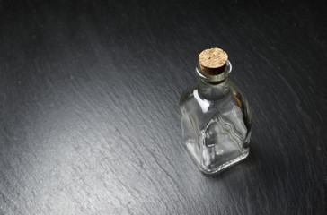 small empty bottle
