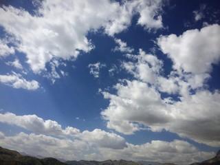 gök yüzü ve bulut