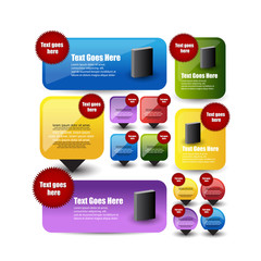web banners,tags,stickers,pointer