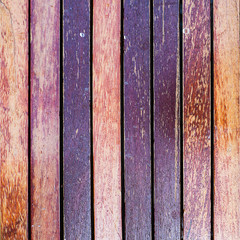 Brown old wood plank wall texture background
