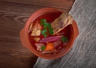 Eastern European beet soup