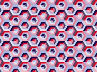 fond motif cubes